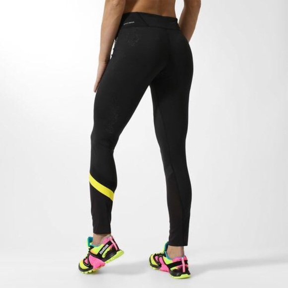 cd0ad9122749a2 Reebok Pants | Mesh Speedwick Workout Leggings Tights | Poshmark